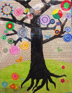 Using Kandinsky ideas... http://rundesroom.blogspot.com/search/label/Friday%20Art%20Feature