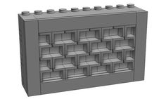Brick profile walls are pretty common in many types of buildings. So it's a pretty well-explored topic in the AFOL community. One of the most popular way to build a brick wall is called Marakoeschtra's wall (see illustrations from brickup.de below).     Brick-profile Brick Walls In recent years, Lego has also came out with …: