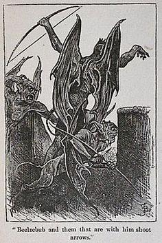Beelzebub - from Pilgrims Progress.(Paul Bunyon)  In demonology he is one of the 7 princes of hell