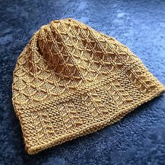 Coming Home Hat is knit in the round from the brim up. All measurements are given in US and metric.