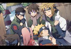 Tags: Fanart, NARUTO, Haruno Sakura, Uzumaki Naruto, Uchiha Sasuke, Hatake Kakashi, Pixiv, Namikaze Minato, Uchiha Obito, PNG…