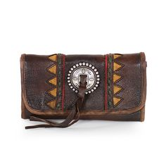 American West Leather, 4450282, Chocolate