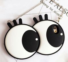 3D Cute Big Eyes iPhone Case 6 6S 7 Plus