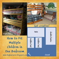 First Comes Love ~~ A Womans Call to Love God, Husband, Children: How to Fit Multiple Children in a Bedroom & Our Bedroom Sharing Philosophy ~ Big Family Idea Bonanza Series