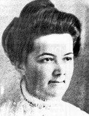 Annie Clemmer Funk.... Annie gave up her seat on a lifeboat so a woman could be with her two children. She died in the sinking.