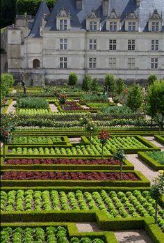 Garden Villandry Castle
