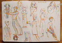 Sketchbook page - magic crayon by https://madjsteie.deviantart.com on @DeviantArt