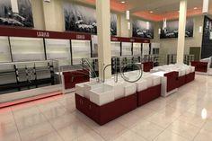 طراحی و تجهیز قنادی لاریسا منطقه 22