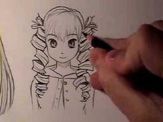 How to Draw Manga Hair: Curly Vs. Straight