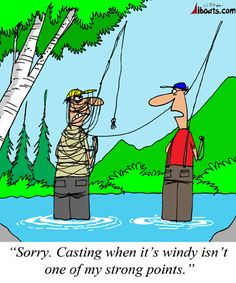 Fly Fishing & Wind - Don't Mix