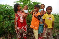 Children in Indonesia.