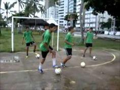 Treino de Futebol. Rodízio de Futsal. Como jogar no estilo Barcelona 1. Ricardo Cavalcanti. - YouTube
