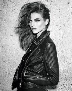 ★ Rock 'n' Roll Style ★ Les mannequins du numéro d'août 2013 de Vogue Paris