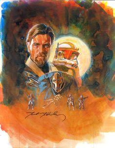 The Amazing STAR WARS Sketch Card Art of Mark McHaley — GeekTyrant