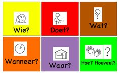 Deze kleurengrammatica hanteert Zien is snappen ook, om zinnen te bouwen en… Learn Dutch, Dutch Language, Educational Games For Kids, School 2017, Close Reading, School Projects, Vocabulary, Homeschool, Teacher