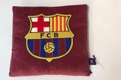 Vankúš Fleece 35x35 cm Club FCB bordový