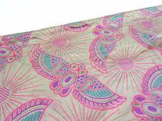 Vintage 1910s 1920s Silk Fabric Belding's Silk