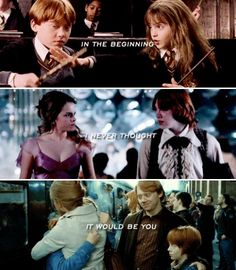 Ron and Hermione: