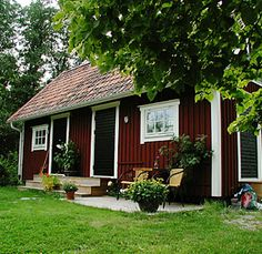 Scandi Style, Rustic Style, Modern Rustic, Red Houses, Vintage Inspired, Cottage, Outdoor Structures, Cabin, Inspiration