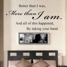 Romantic Wall Quote
