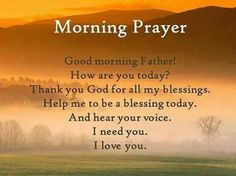 Good Morning Everyone have a Blessed Monday and Week...