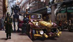 cadeira de rodas steampunks desenho - Pesquisa Google
