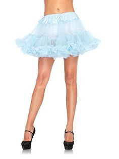 Leg Avenue Petticoat Light Blue One Size -- Details can be found by clicking on the image-affiliate link.