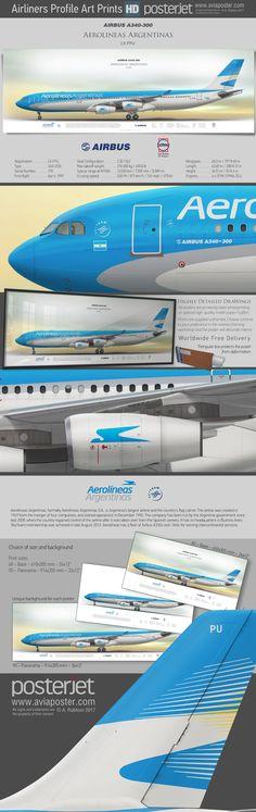 Airbus A340-300 Aerolineas Argentinas LV-FPU | www.aviaposter.com | #aviation #jetliner #airplane #pilot #aviationlovers #avgeek #jet #airport #pilotlife #cabincrew #airbuslovers #airbuspilot #airbuscrew #a340