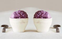 Blueberry Coconut Milk IceCream