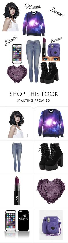 """Aphmau"" by alien-galaxy ❤ liked on Polyvore featuring Topshop, women's clothing, women's fashion, women, female, woman, misses and juniors"