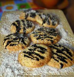 Coconut Chocolate Orange Cookies