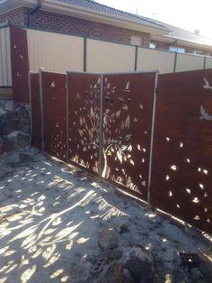 Laser cut gate