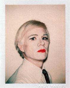 Andy Warhol Polaroids.JR: the magic is in the make up. Document youth and transgression. Have proof of your rebellion when you die.
