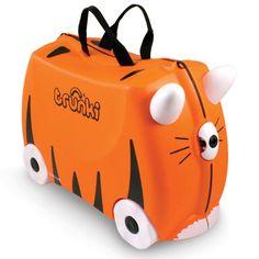 Hem bavul hem de çocukların yeni eğlence kaynağı.