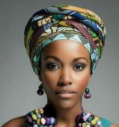 Head wrap styles are awesome for bad hair days, protective styles or just regular glam - check out our gallery of 36 gorgeous head wrap styles Bad Hair Day, Afrika Tattoos, Hair Wrap Scarf, Hair Scarfs, African Head Wraps, Turbans, Headscarves, Turban Style, Scarf Hairstyles