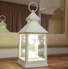 Pamper Hamper - Plain Design Led Lantern - 151905   Buy Online in South Africa   takealot.com Led Lantern, Lanterns, Pamper Hamper, South Africa, Gazebo, Minimalism, Indoor, Outdoor Structures, Lighting
