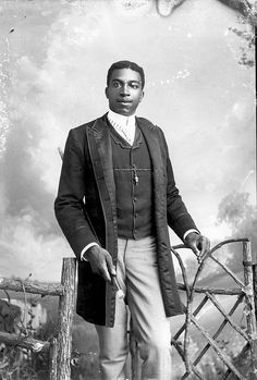 Young African American Man by Black History Album, via Flickr