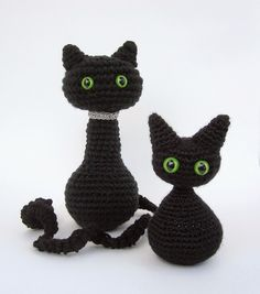 Tales of a Crafty Mommy: Crochet for Cats Roundup | Cat Amigurumi