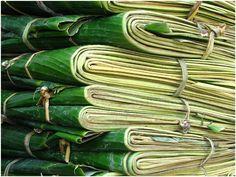Use banana leaves instead of aluminum foil