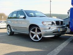 AC Schnitzer BMW X5 E53 Check out for more on: http://dailybulletsblog.com/60-best-pictures-of-bmw-x5-e53/ #X5 #E53 #BMW