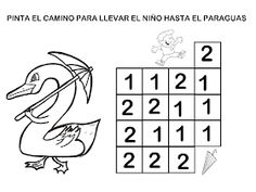 RECURSOS EDUCACIÓN INFANTIL: NÚMERO 2 Motor Activities, In Kindergarten, Fine Motor, Worksheets, Diagram, Math, School, Activities For 3 Year Olds, Fun Activities