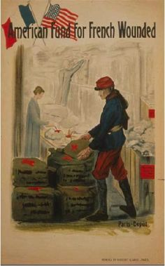 French, WWI - America.