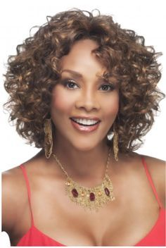 Vivica A. Fox Deep Swiss Lace Front Wig - Chilli-V