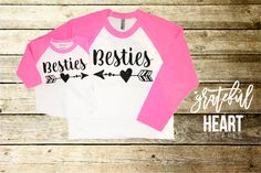 Best Friend shirts Mommy and me outfits by Gratefulheartapparel