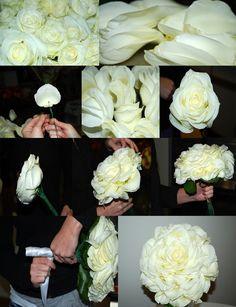 Flor Gigante ou Ilusão? Com Tutorial Clube Noivas