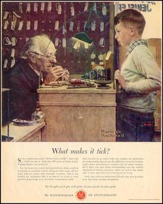 Norman Rockwell - What makes it tick?