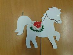 Horse Crafts, Animal Crafts, Doki, Independence Day, Art For Kids, Origami, Diy And Crafts, Dinosaur Stuffed Animal, Projects To Try