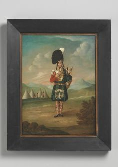 A Piper of the Black Watch (Depicting George Clarke), Scottish, c. 1830, Robert Young Antiques