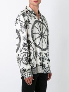 Dolce & Gabbana chemise à roue imprimée