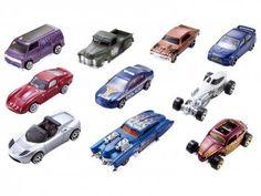 Hot Wheels Pacote 10 Carros - Mattel 54886